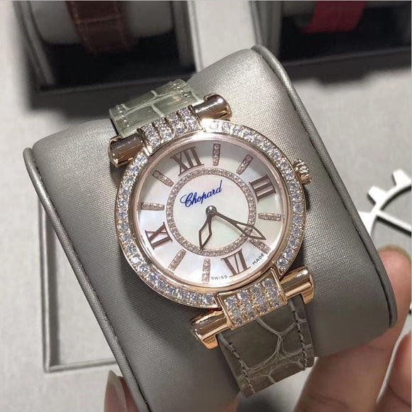 Chopard Imperiale Gold Grey Diamonds Automatic 36 mm Luxury Woman Watch