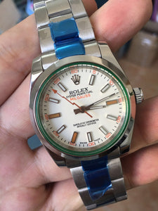 Rolex Oyster Perpetual Milgauss Men`s Luxury Watch
