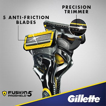Gillette Fusion5 ProShield Men's Razor Blade Refills Pack of 5 - Nieboo