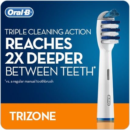 Oral-B Trizone Replacement Brush Heads EB30 Pack of 3 - Nieboo