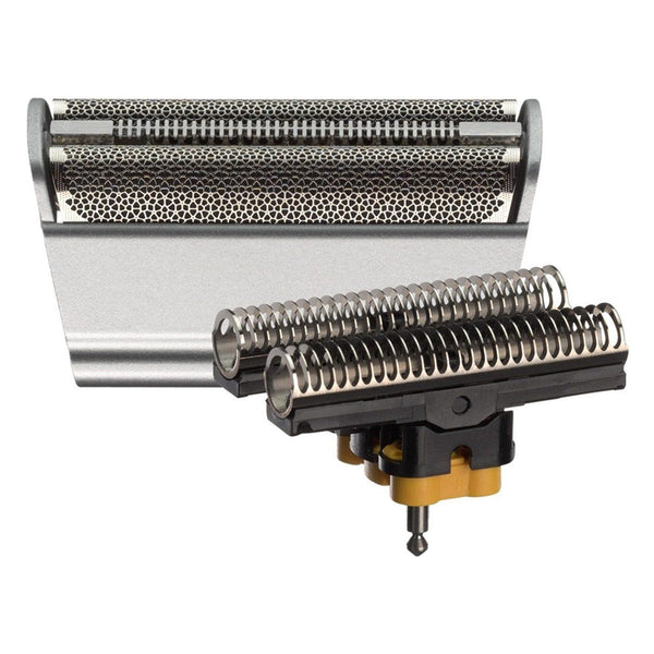Braun 31S (5000/6000 Series) - Series 3, Contour, Flex XP, Flex Integral Foil and Cutterblock, Silver - Nieboo