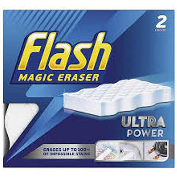 Flash Magic Eraser Ultra Power (2 Erasers)