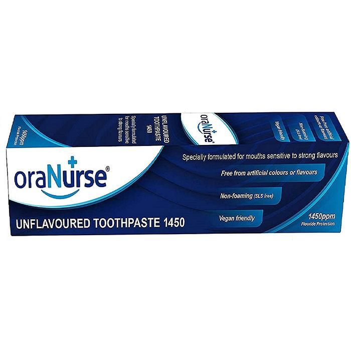 Oranurse Unflavoured Toothpaste 50ml