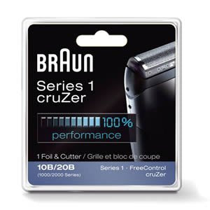 Braun Series 1 10B  Shaver Replacement Foil and Cutter Pack with Braun Oil and Cleaning Brush - Nieboo