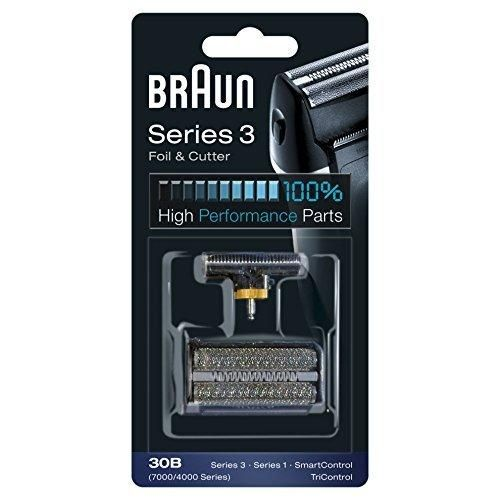 Braun 30B Replacement Foil and Cutter Cassette Multi Black BLS Combi Pack - Nieboo
