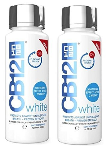 CB12 White Mouthwash 250ml
