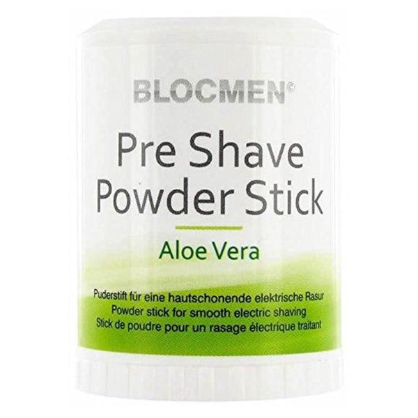 BlocMen Pre Shave Powder Stick 60g Aloe Vera
