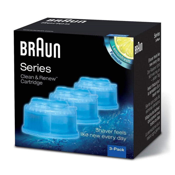Braun Clean & Renew Refill Cartridges CCR - 3 Count - Nieboo