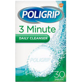 Poligrip Denture 3 Minute Daily Cleanser 30 Tablets
