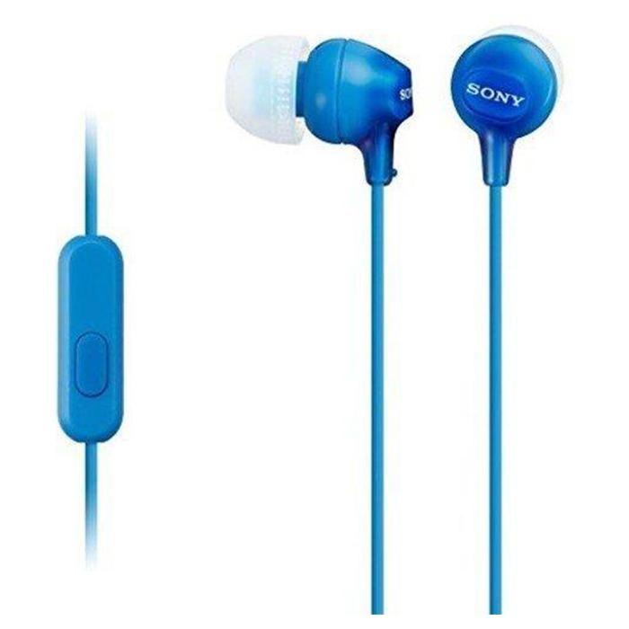 Sony MDR-EX15APB 3.5mm Earphone - Blue
