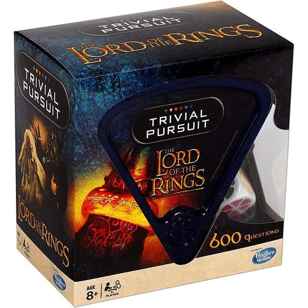 Lord of The Rings Trivial Pursuit Game