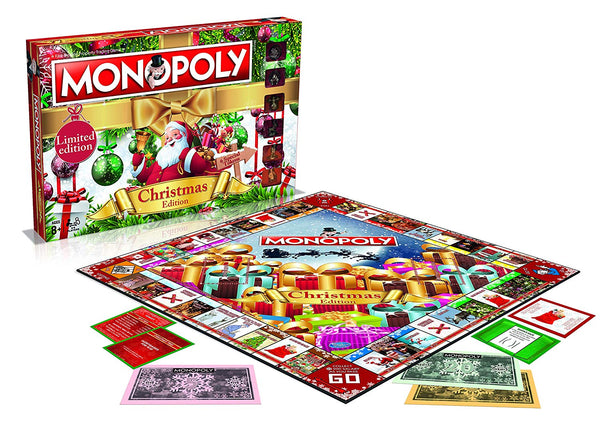 Christmas Monopoly Board Game - Nieboo