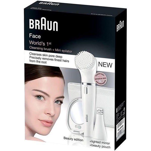 Braun Face 831 Facial Brush / Epilator