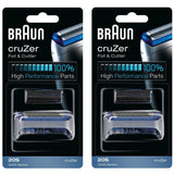 Braun 20S Replacement Foil & Cutter - CruZer1, 2, 3, 4 - 2000 Series
