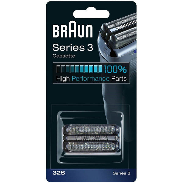 BRAUN 32S Series 3 Shaver Foil and Cutter Head Replacement Cassette