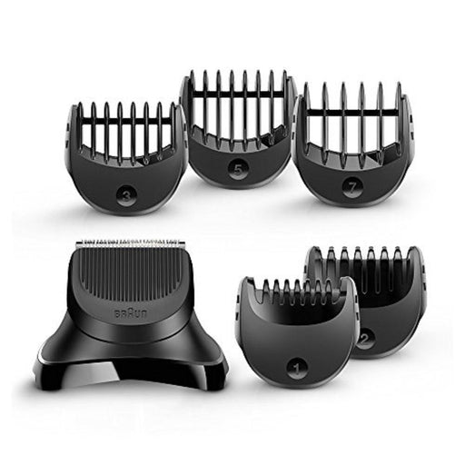 Braun BT32 Series 3 Electric Shaver Beard Trimmer Attachment for Braun Series 3 Shave with 5 Combs - Black