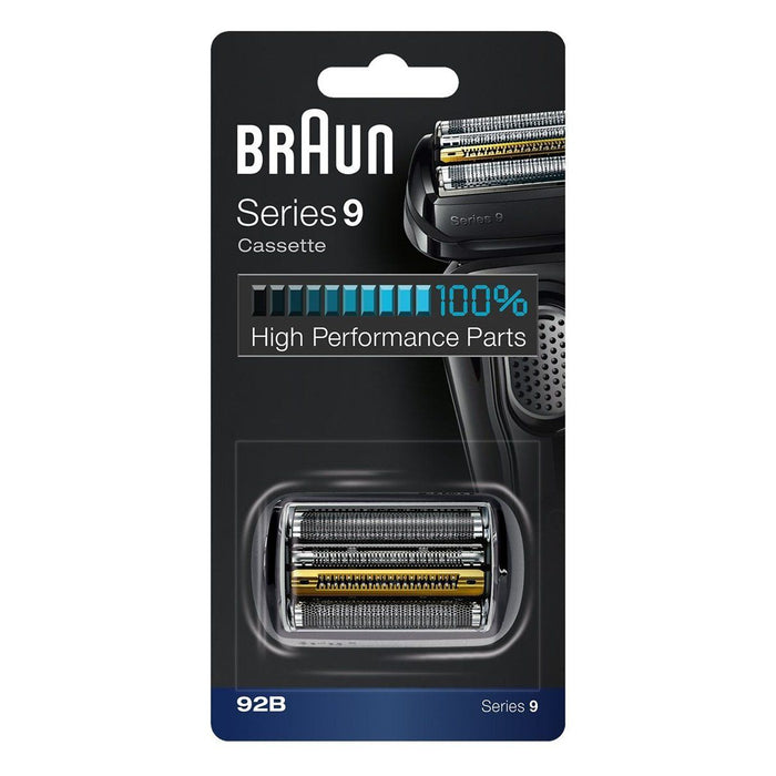 Braun Series 9 92B Foil & Cutter Replacement Head - Black - Nieboo