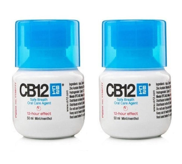CB12 Mint Menthol 50ml Mouth Rinse - Nieboo
