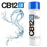 CB12 Mint Menthol 250ml Mouth Rinse Blue - Nieboo