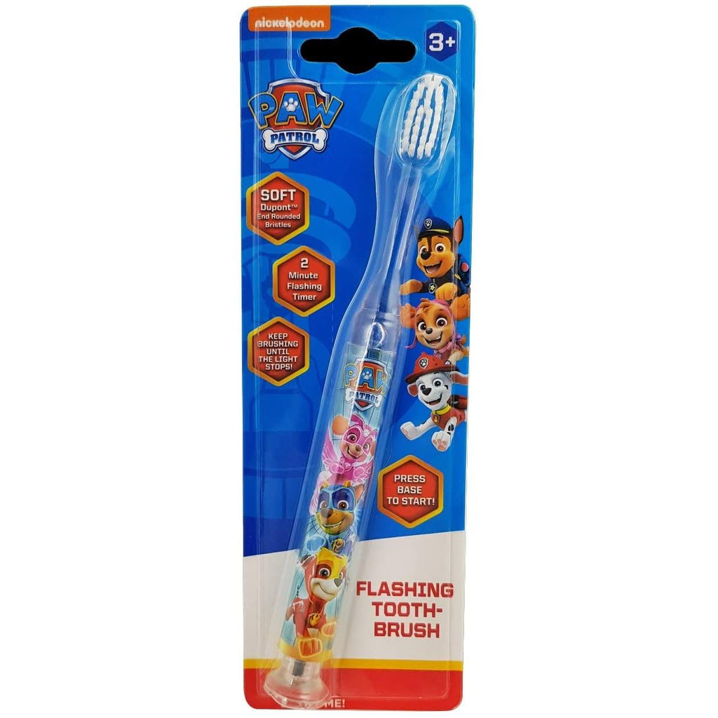 Paw Patrol Flashing Toothbrush - Nieboo