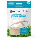 Humble Floss Picks - P Shape - 50 Picks Per Pack - Nieboo
