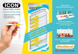 ICON YELLOW STANDARD INTERDENTALS 8 BRUSHES