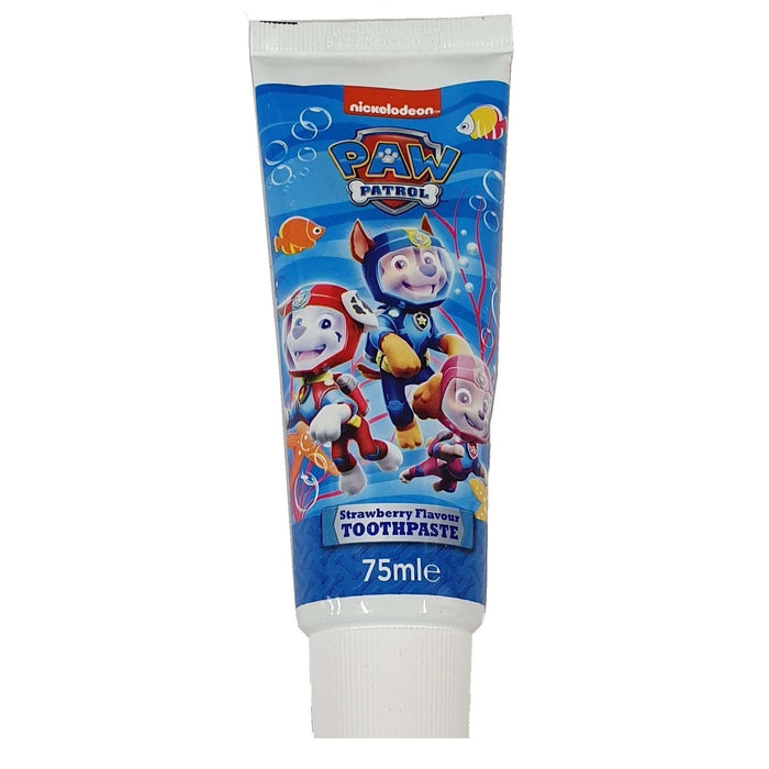 Paw Patrol Strawberry Flavour Toothpaste 75ml - Nieboo