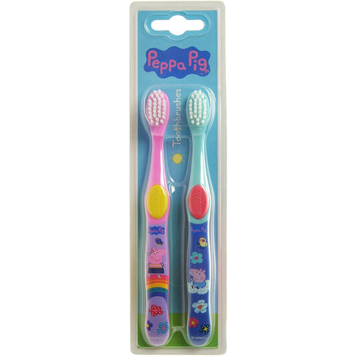 Peppa Pig Twin Pack Toothbrush - Nieboo