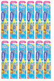 Wisdom Step By Step 3-5 Years Toothbrush - Color/Design May Vary - Nieboo