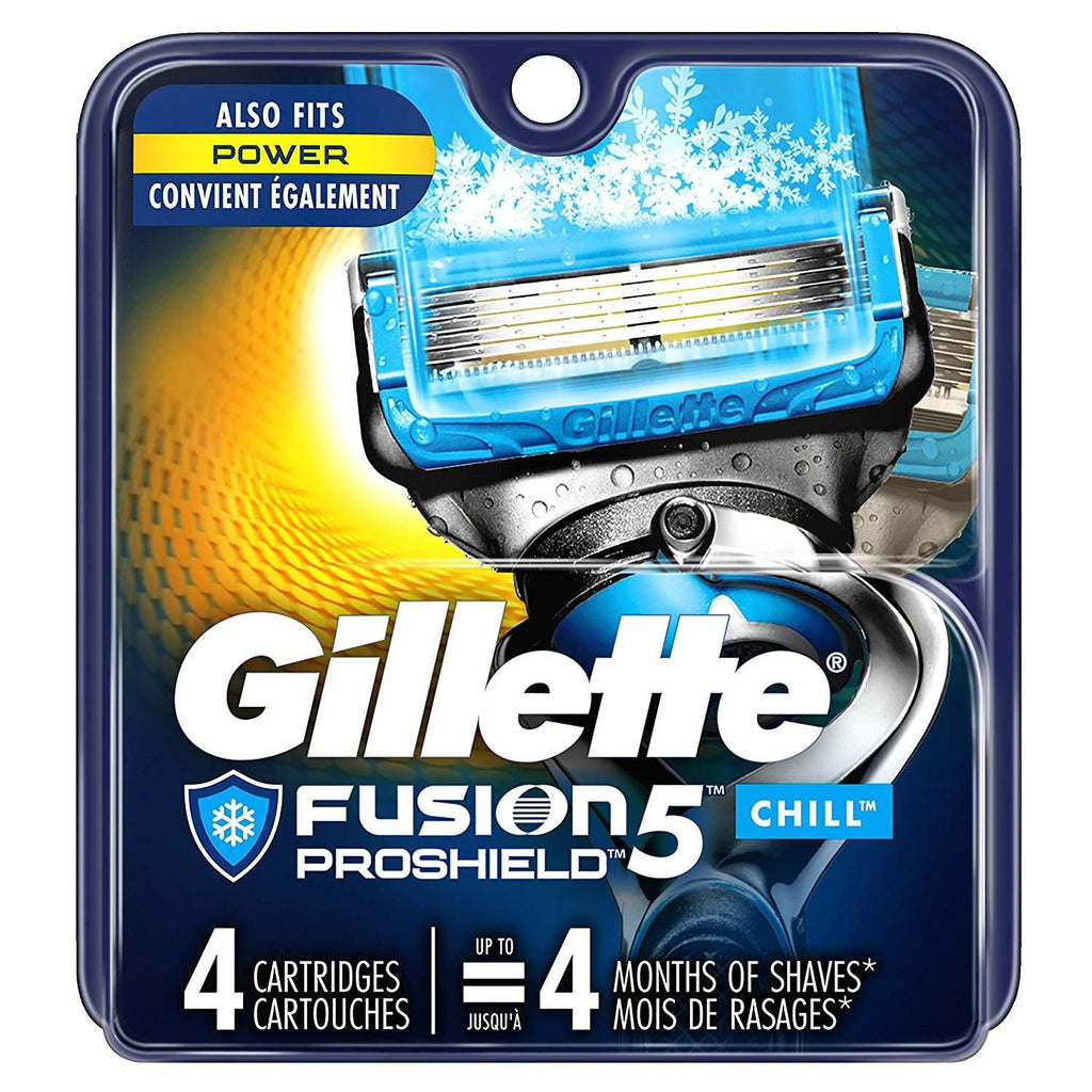 Gillette Fusion ProGlide Men's Razor Blade Pack of 4 - Nieboo