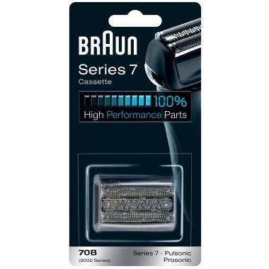 Braun Series 7 70B Shaver Replacement Foil and Cutter Pack with Braun Oil and Cleaning Brush - Nieboo