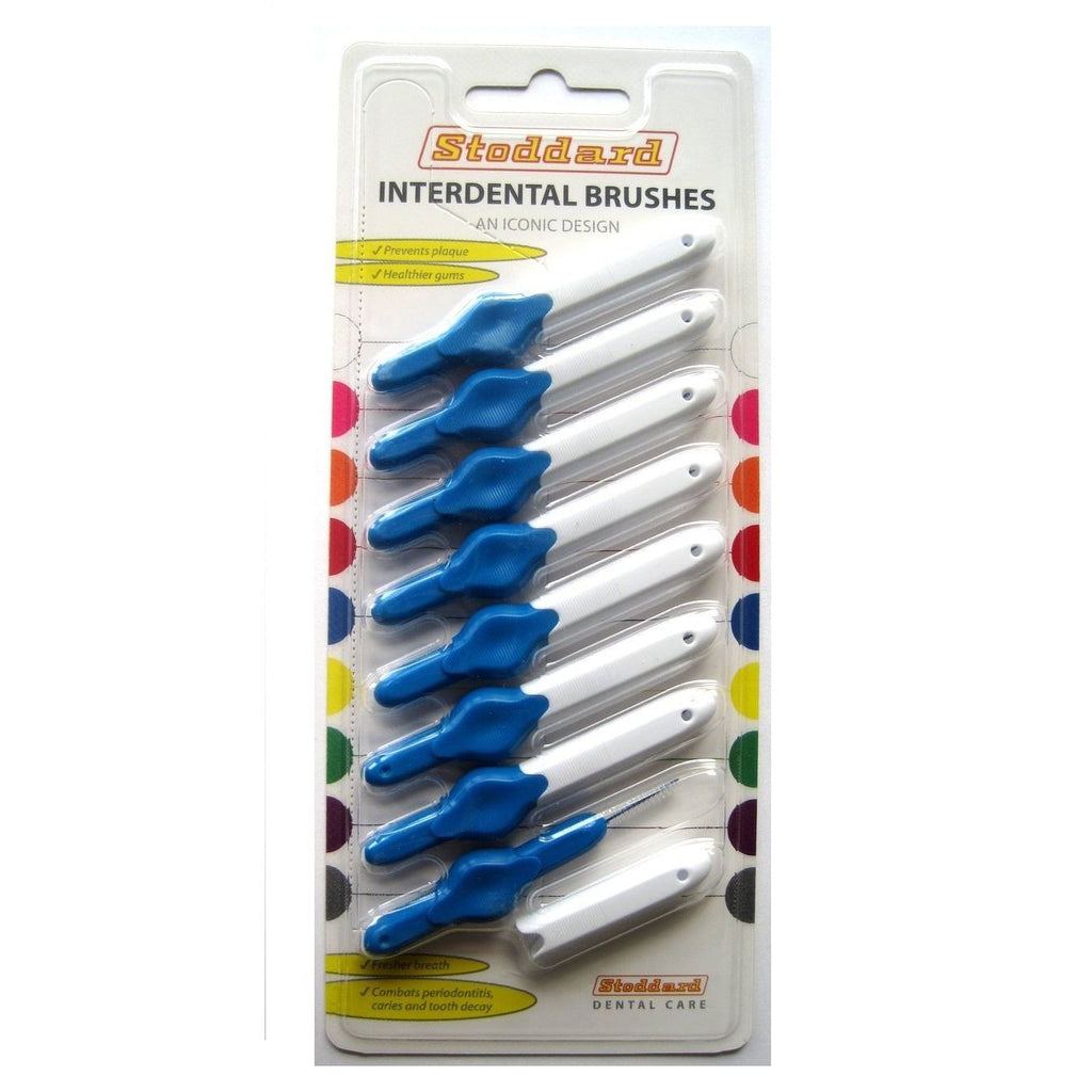 Stoddard Icon Interdental Brush - 0.6 Blue - 8 per Pack