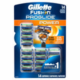 Gillette 81524192 Fusion ProGlide Power Pack of 14 Blade Pack