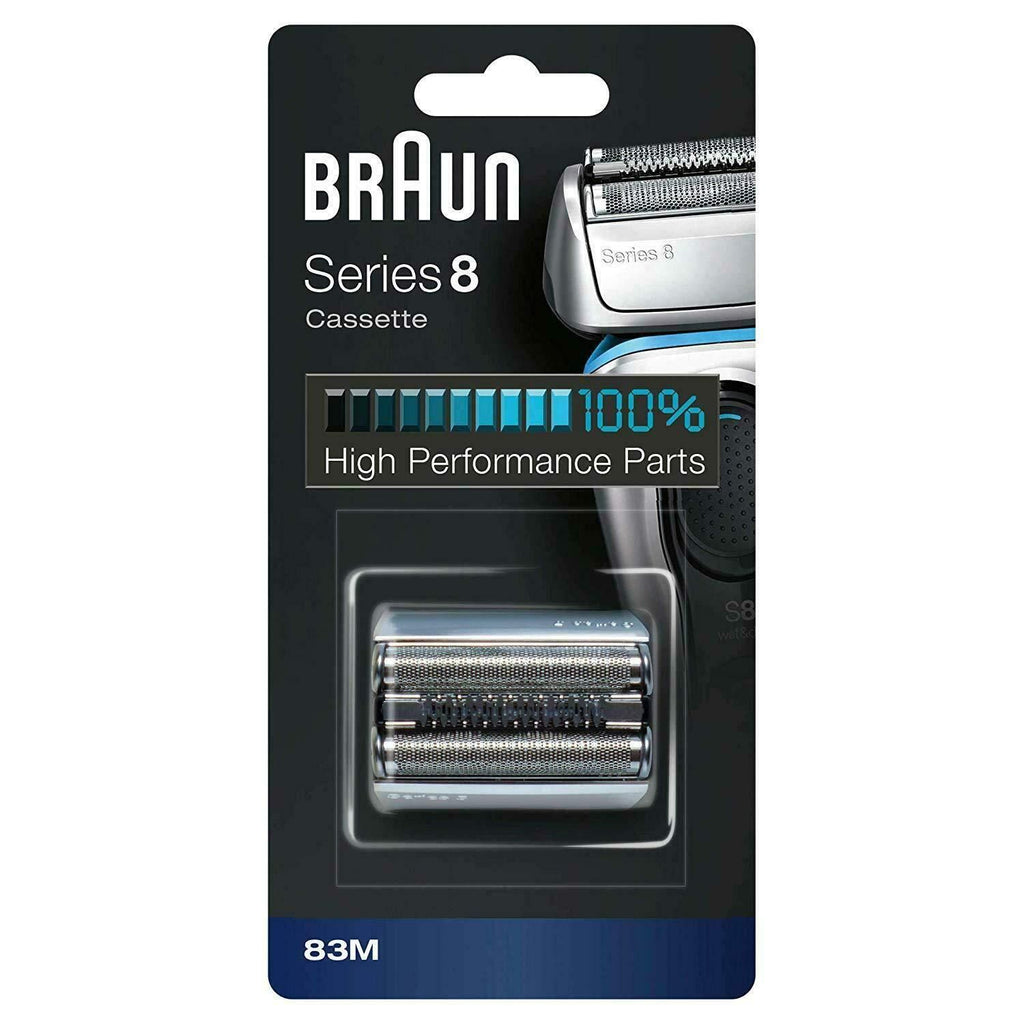 Braun 83M Series 8 Replacement Foil and Cutter Cassette - Nieboo