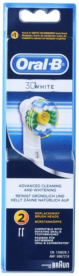 Oral B 3D White 2 Replacement Brush Heads