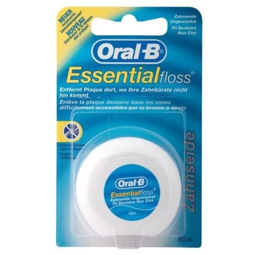 ORAL B floss unwaxed 50m 1P (1 x 1P) - Nieboo