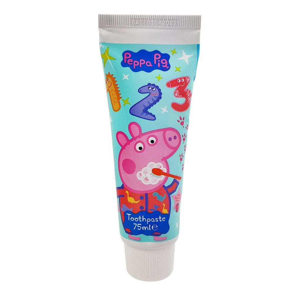Peppa Pig Toothpaste Bubble Gum Flavour 75ml