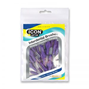 Stoddard Icon purple Standard Interdental Brush - 25 Brush