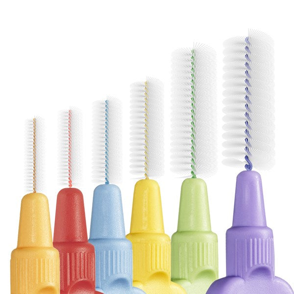 TePe Interdental Brush Extra Soft Mixed Pack - ISO size 1-6 ( Eight Pack ) - Nieboo