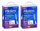 Piksters Interdental Brush Size 2 (40 Pack)