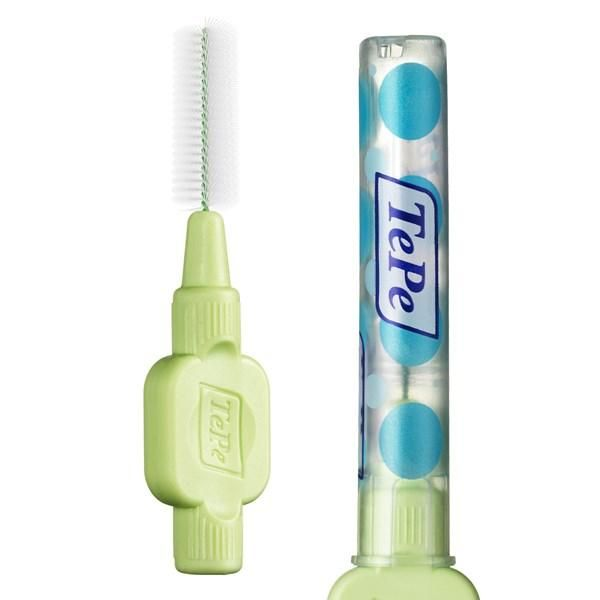 TePe Interdental Brushes Green Extra Soft - ISO size 5 ( Two Pack ) - Nieboo