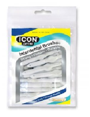 Stoddard Icon White Standard Interdental Brush - 25 Brush