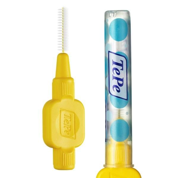 TePe Interdental Brushes Yellow Original - ISO size 4 ( Two Pack ) - Nieboo