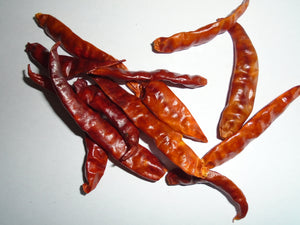 Chillies whole
