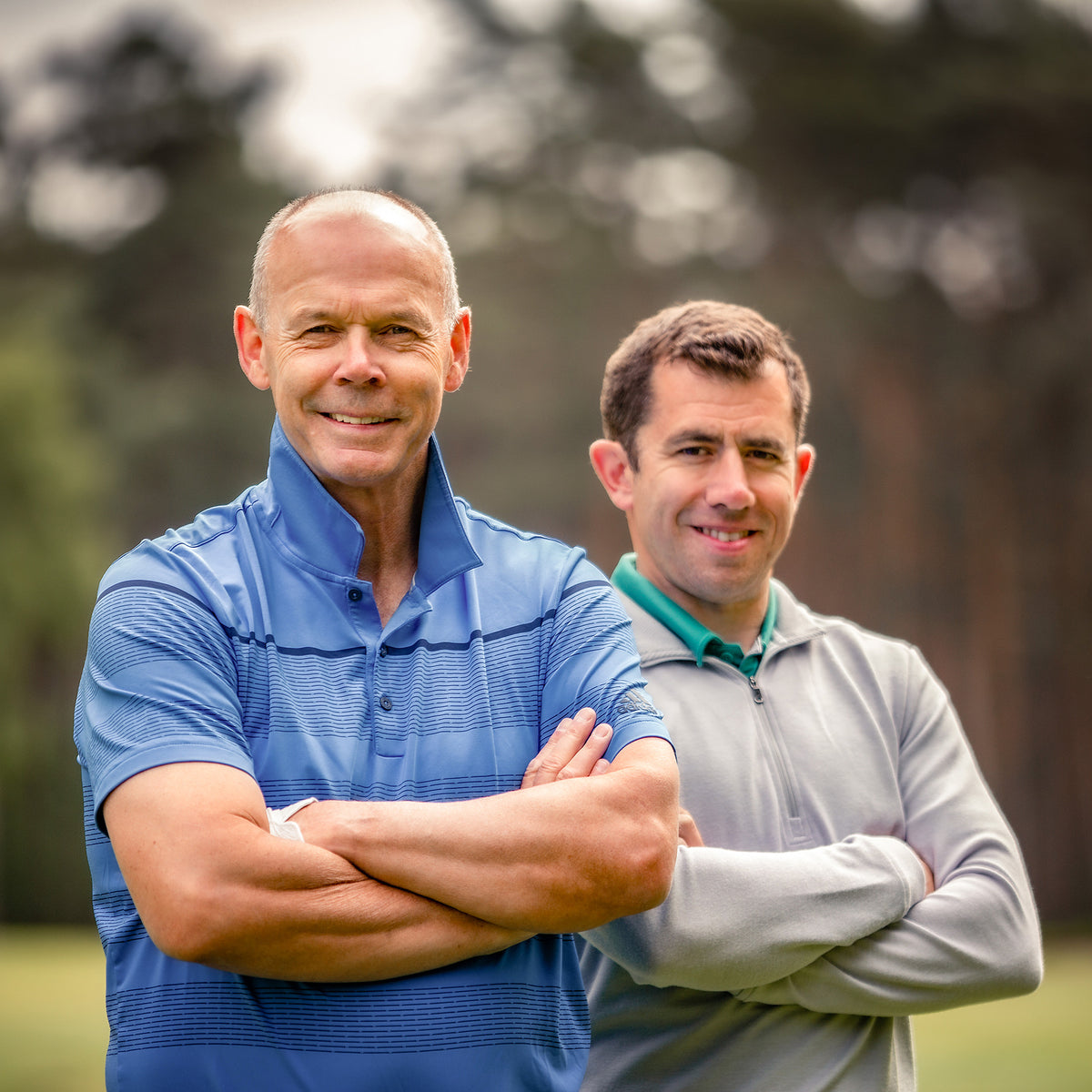 Sir Clive Woodward and Daniel Grieve