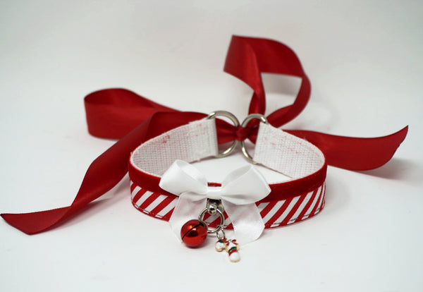 Limited Edition - Christmas Candy Cane Collar