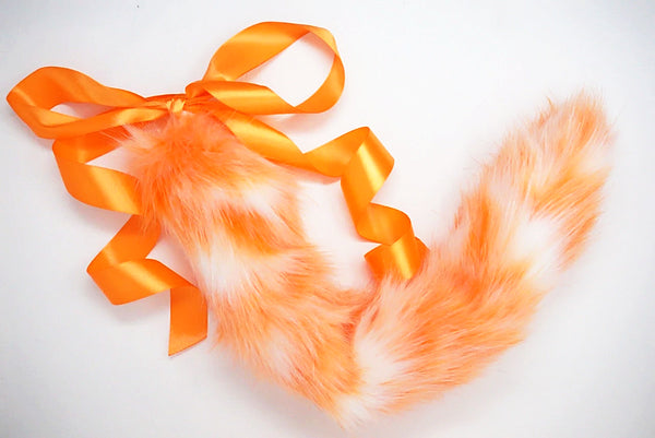 Orange Creamsicle Kitten Play Tail