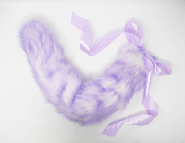 Lilac Ombre Kitten Play Tail