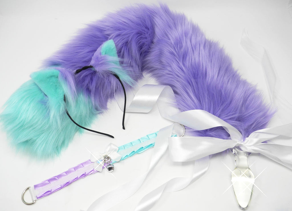 Candy Mint & Lilac Kitten Play Set