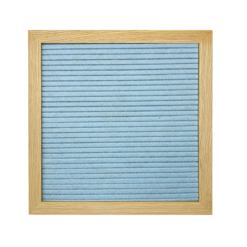 Double Sided Letter Board Set | Blue and Grey